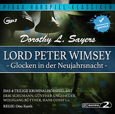 Lord Peter Wimsey Glocken in der Neujahrsnacht * CD Hörspiel Krimi Pidax Neu Ovp