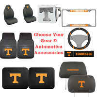 NCAA Tennessee Volunteers Choose Your Gear Auto Accessories Official Licensed