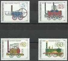 Timbres Trains Bulgarie 2796/9 ** lot 24760