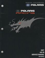 2007 POLARIS SNOWMOBILE RACING 440 IQ SERVICE MANUAL P/N 9920463 (933)