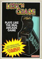 LOCK N CHASE for Colecovision / ADAM Cartridge.  NEW / CIB - NO SGM needed