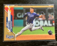 Willy Adames Gold 913/2020 2020 Topps #148 Tampa Bay Rays
