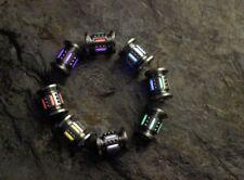 1PC Titanium Tritium 25 Years Fluorescence Light Lanyard Knife Paracord Bead
