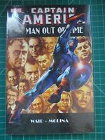 MARVEL CAPTAIN AMERICA MAN OUT OF TIME HC NEW SEALED