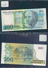 BRASILE 200 CRUZEIROS 1990 UNC (rif. 48)