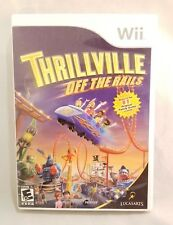 Thrillville: Off the Rails (Nintendo Wii, 2007) Complete Mint Condition