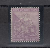 Cape of Good Hope QV 6d Purple Mint SG52a MLH Gum J974