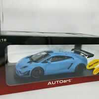 AUTOart 1/18 38577 LAMBORGHINI GALLARDO GT3 FL22013 Blue 2 door openings Car