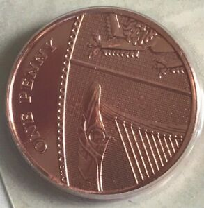 ~Simply-Coins~ 2009 ONE 1 PENCE COIN BRILLIANT UNCIRCULATED BUN BUNC