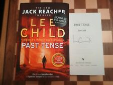 Signed Book Past Tense by Lee Child 1st Edition Hardback 2018 Jack Reacher