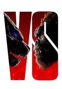 Godzilla vs Kong (2021) Collectible on BD NEW