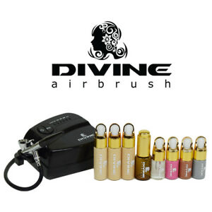 Divine Professional Airbrush System Liquid makeup machine professional face body