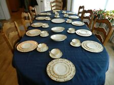 Lenox Fine China Essex #0-351-R Dinnerware Set for 12 w/4 Serving Pieces 4-2
