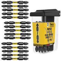 15 SabreCut Revolution PH2 Impact Drill Driver 65mm Screwdriver Bits Set Double