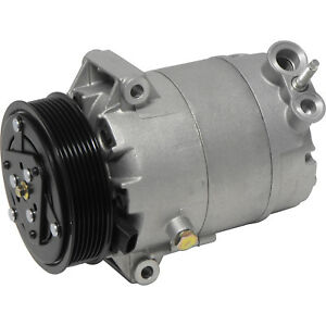New AC A/C Compressor With Clutch Fits: Saturn Vue Aura Chevy Malibu 2.4L Hybrid