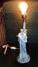 "LLADRO SHEPHERD WITH GOAT LAMP BASE PORCELAIN RETIRED FIGURINE #4727 15"" TALL"