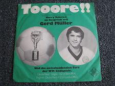 Gerd Müller-Tooore!! 7 PS-1970 Germany-Ex Bayern München-45 U/min-Valérien