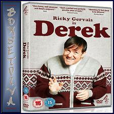 DEREK - COMPLETE SERIES 1   **BRAND NEW DVD **