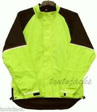 High Visibility Waterproof Cycle Jacket Yellow Small Hi Viz Vis Safety Clearance