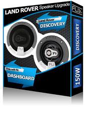 """LAND Rover Discovery ALTOPARLANTI ANTERIORI Dash Fli 4"""" 10cm Altoparlante Auto Kit 150W"""
