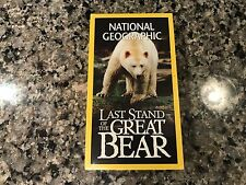 National Geographic Last Stand Of The Great Bear New Sealed VHS!