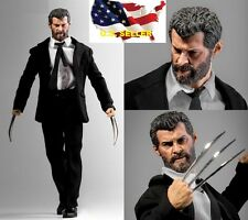 custom 1/6 Logan Wolverine figure set w/ claws black suit toys hot❶USA IN STOCK❶