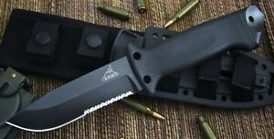 as new genuine black GERBER Infantry Knife with Sheath