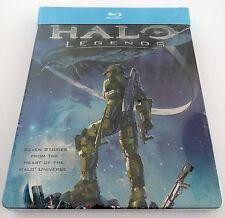 Halo Legends Blu-ray SteelBook Region B Microsoft Xbox Video Game Based Movie