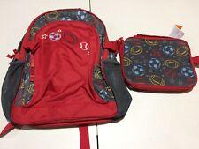 NWT Gymboree Boys Backpack Lunch Box Set Sport Uniform Shop Bag School