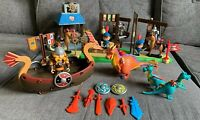 Mike The Knight Playset Toys Bundle Glendragon Arena Figures Horse Wash Dragons