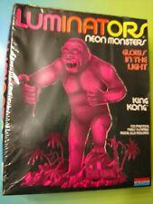 Monogram Aurora KING KONG Luminators Neon Monsters Glow Kit 1992 Sealed!