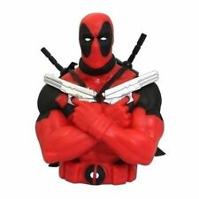 Marvel Bust Bank Deadpool Action Figures Toy