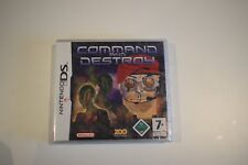 command and destroy nintendo ds neuf sous blister