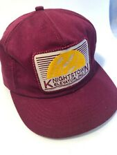 Knightstown Grain Elevator Inc K Brand Products Patch VTG Snapback Cap Hat