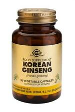Solgar, Full Potency Ginseng (Korean) Vegetable Capsules, 50
