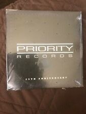 Priority Records 25th Anniversary Sampler Snoop Ice Cube Easy E NWA Master P