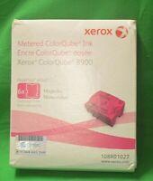 Xerox Metered ColorQube 8900 Magenta  108R01027 6 Inks Genuine Original