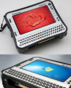 Military Antivandal Shock-Proof Tablet PC Notebook Toughbook Cf U1 32GB SSD HDD