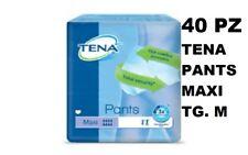 40 PCS DE TENA PANTS MAXI TAILLE M CULOTTE ABSORBANT INCONTINENCE COUCHES