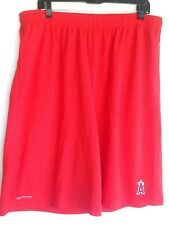MLB Basketball Shorts XXL Los Angeles Angels Two Pockets