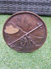 Irish Rural Electrification Bronze Plaque Golden Jubilee 1946 1996 Rare