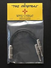"Guitar Amp ""Y"" Jumper Cable for Marshall HiWatt Fender Amp Switchcraft Mogami"