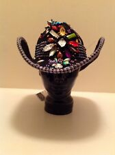 """Western Cowgirl """"Whitall & Shon"""" Black With Multi Colored Embellishment!"""
