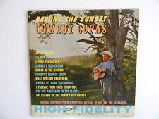 "COWBOY COPAS~"" BEYOND THE SUNSET "" - 33 1/3 LP - PHONOGRAPH~RECORD ALBUM -NICE"