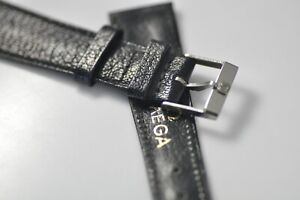 Omega 18mm Vintage Band Strap with Stainless Steel Buckle NOS