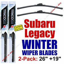 WINTER Wiper Blades 2-Pack Premium - fit 2010-2014 Subaru Legacy - 35260/35190