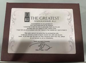 2012 LEAF MUHAMMAD ALI 'THE GREATEST' FACTORY SEALED BOX - 1 ON CARD ALI AUTO