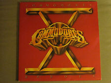 COMMODORES HEROES LP ORIG '80 MOTOWN SYNTH FUNK MODERN SOUL R&B VG+