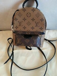 Louis Vuitton Limited Edition Monogram Palm Springs Mini Backpack!