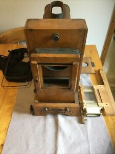 Antique Magic Lantern Projector The Abbeydale Spares Or Repairs
